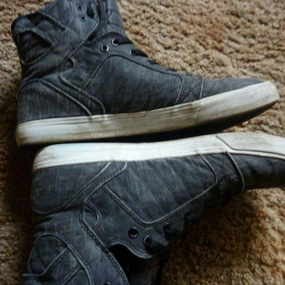 Supra Shoes | Muska 001 Grey